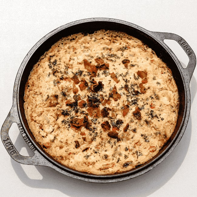 An image of a tasty gameday dip, Downfield Dip
