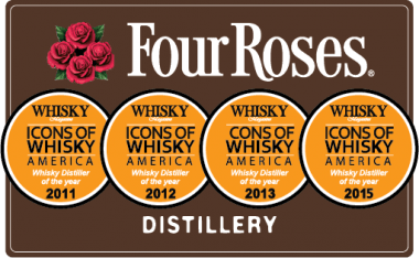 Image result for four roses bourbon distiller of the year