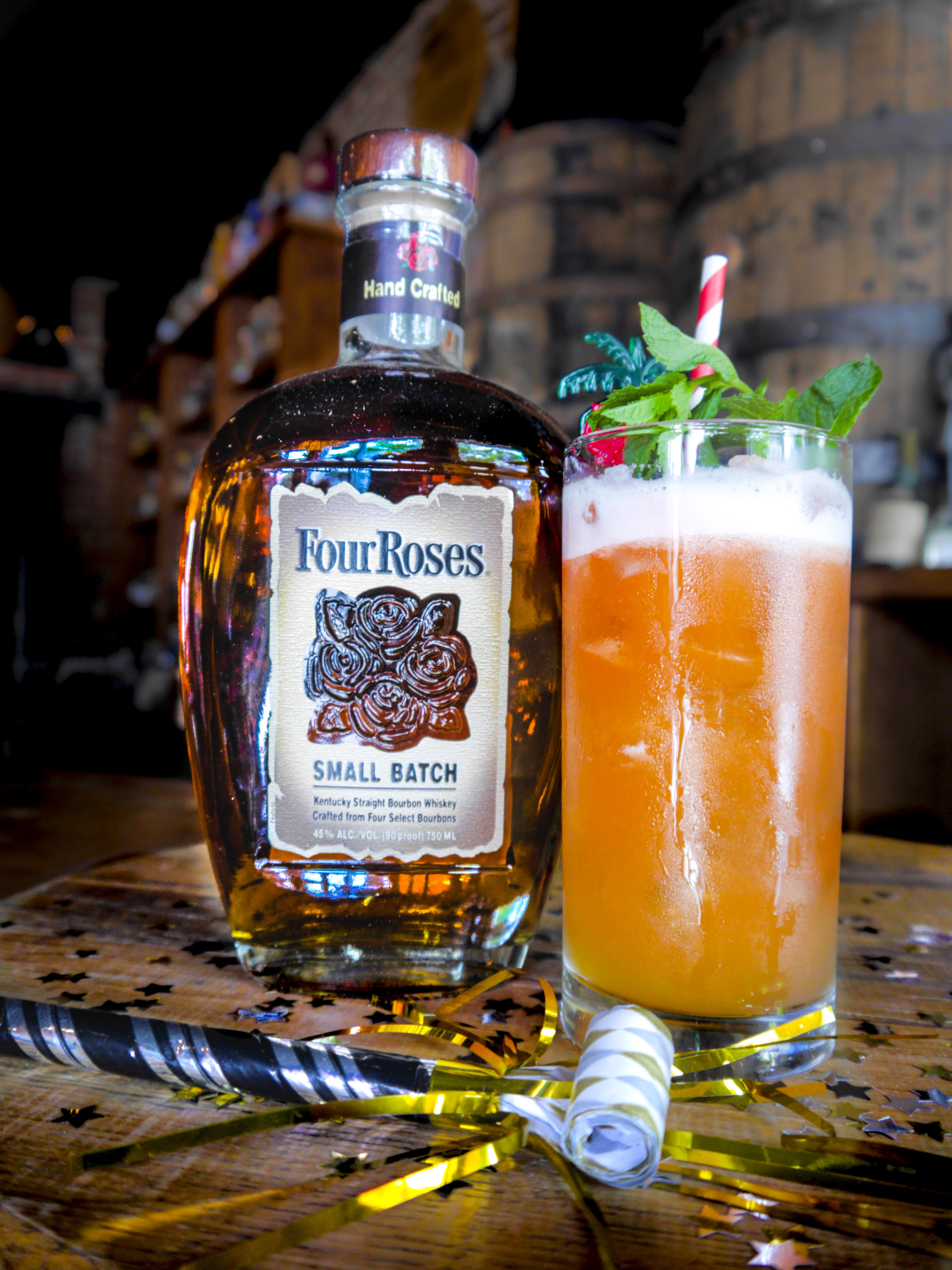 Ring in the New Year with Punch 415 - Four Roses Bourbon