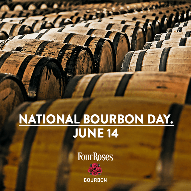 National Bourbon Day barrels