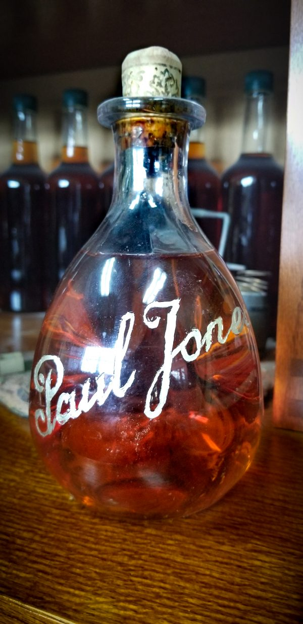 Four Roses Paul Jones Pinch Bottle – 1950s