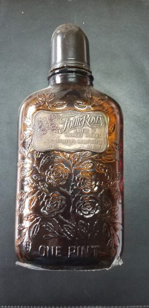 Four Roses Prescription Bottle - 1933