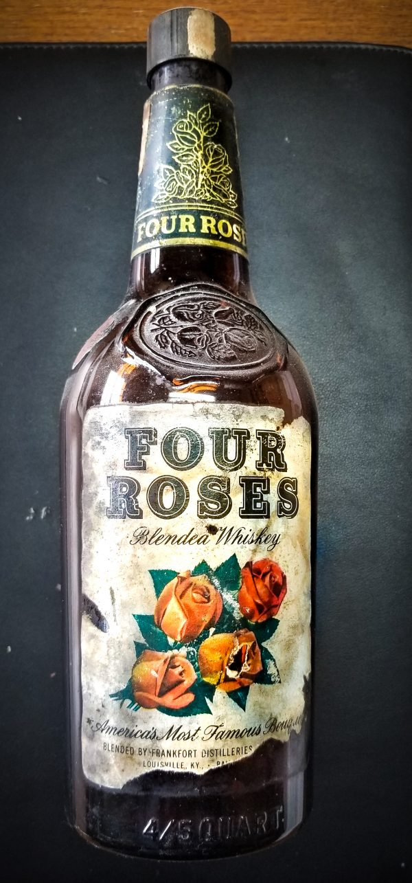 Four Roses Blended Whiskey, featuring America's Most Famous Bouquet - 1952