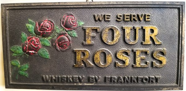 Four Roses Tavern Sign – Late 1930s to early 1940s