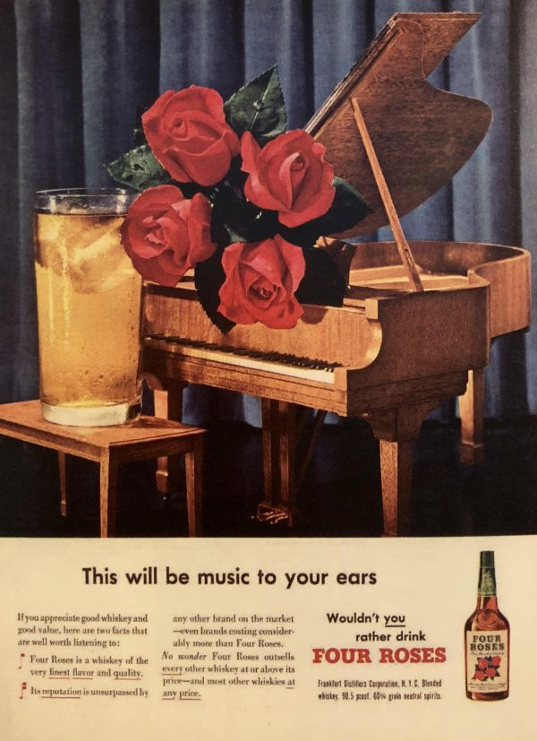 Four Roses 1950 Advertisement