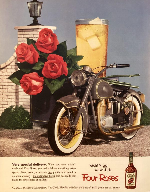 Four Roses 1953 Advertisement