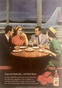 Four Roses 1961 advertisement