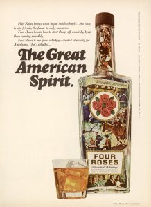 Four Roses 1968 advertisement