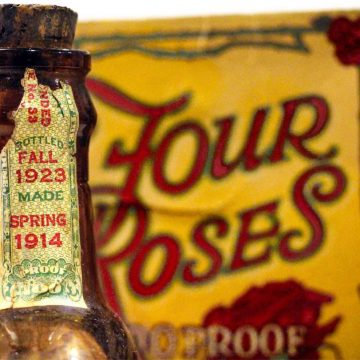 This is a bottle of Prohibition Era whiskey from 1923