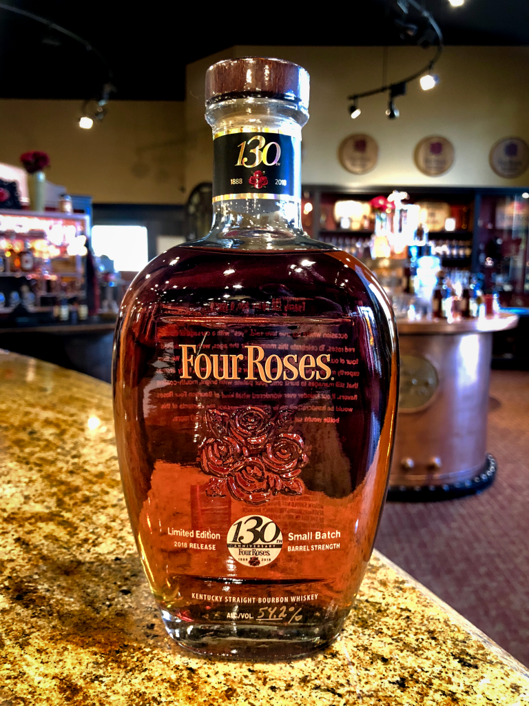 Four Roses 2018 Limited Edition Small Batch 130th Anniversary Edition