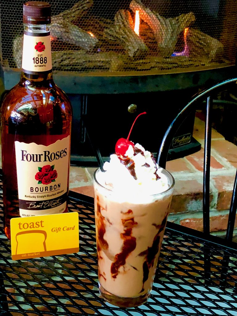 Four Roses Bourbon Ball Iced Mocha