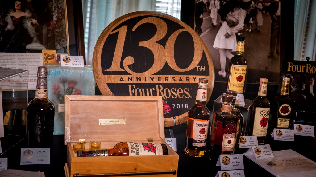Four Roses Let's Talk Bourbon event