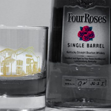 This is a 2010 Distillery's 100th anniversary commemorative glass.