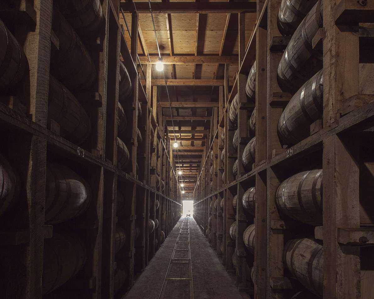 Four Roses Warehouse Ricks