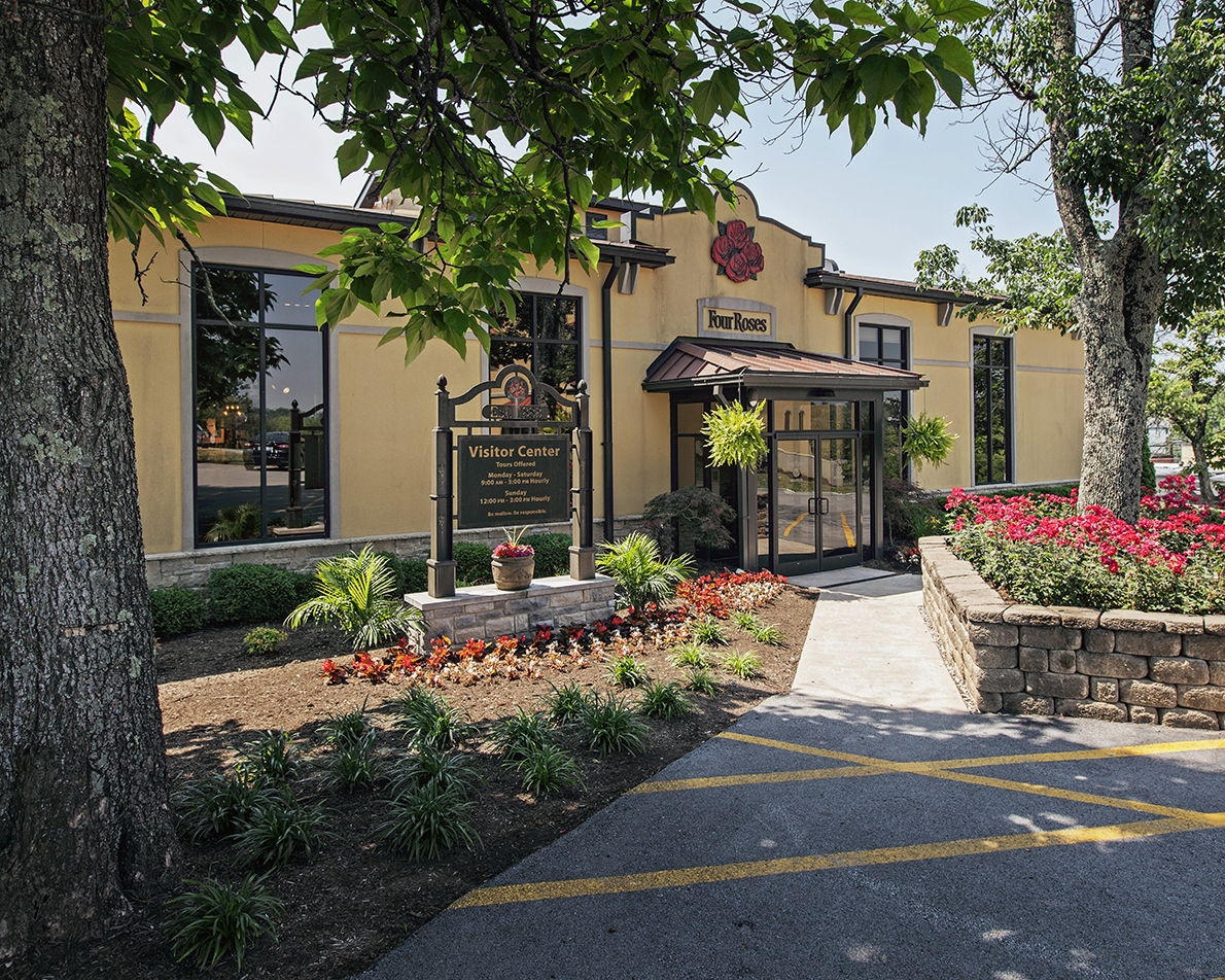 Four Roses Distillery Front