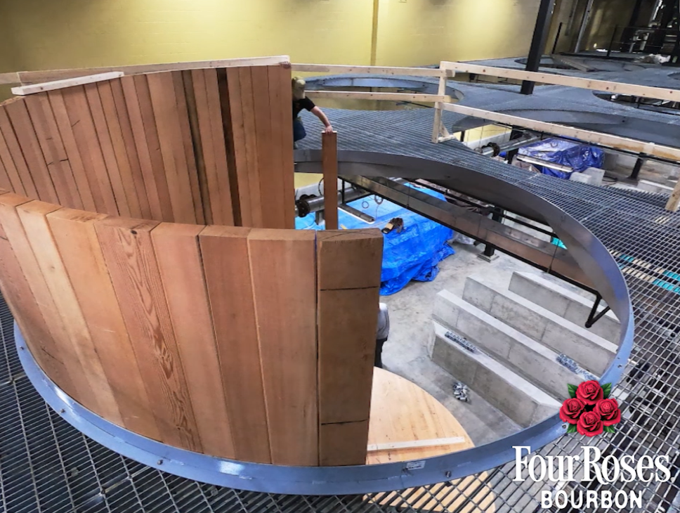 Four Roses Distillery fermenter